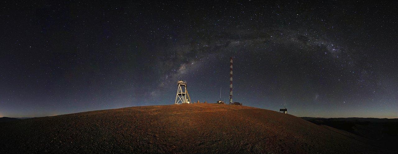 Cerro Armazones night-time panorama*
