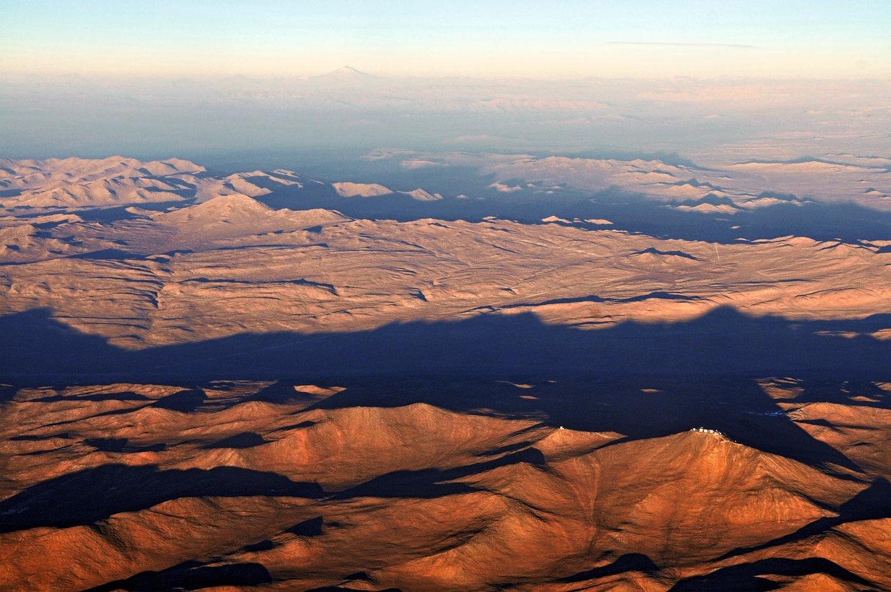 Cerro Paranal und Cerro Armazones in Chile