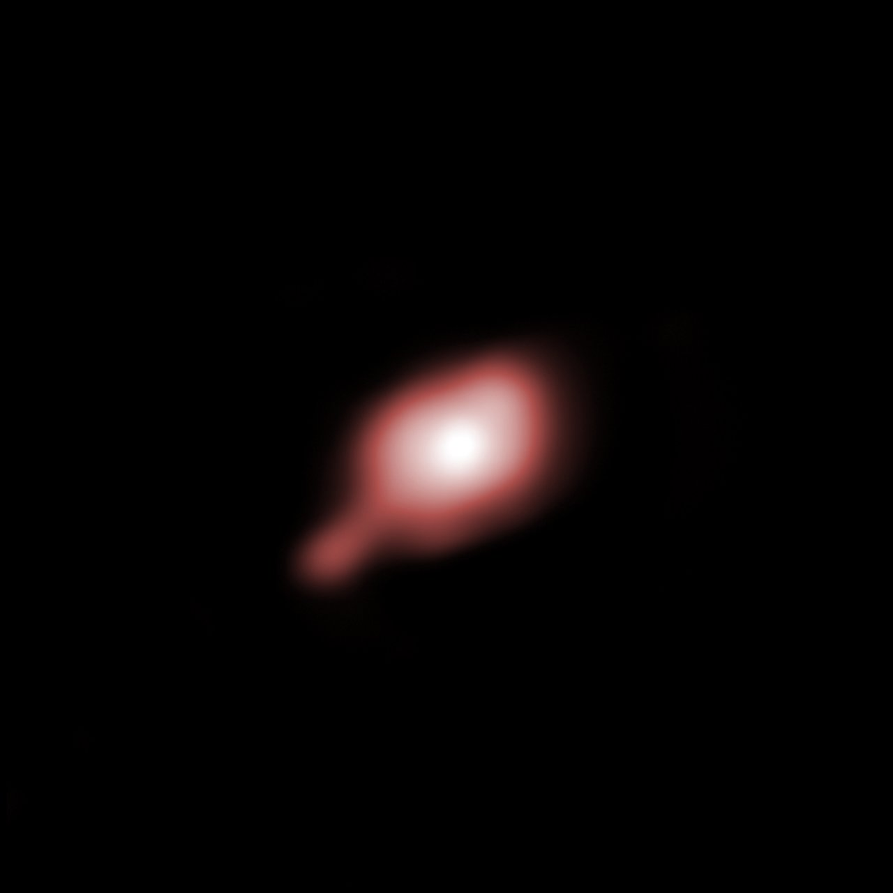 The disc around IRAS 13481-6124