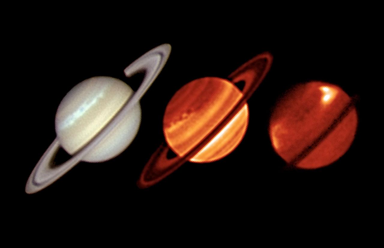 Gran tormenta en Saturno observada por Very Large Telescope de ESO