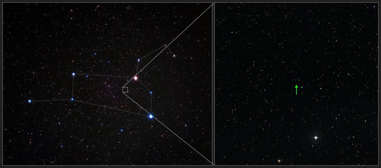 La increíble estrella SDSS J102915+172927 en la constelación de Leo