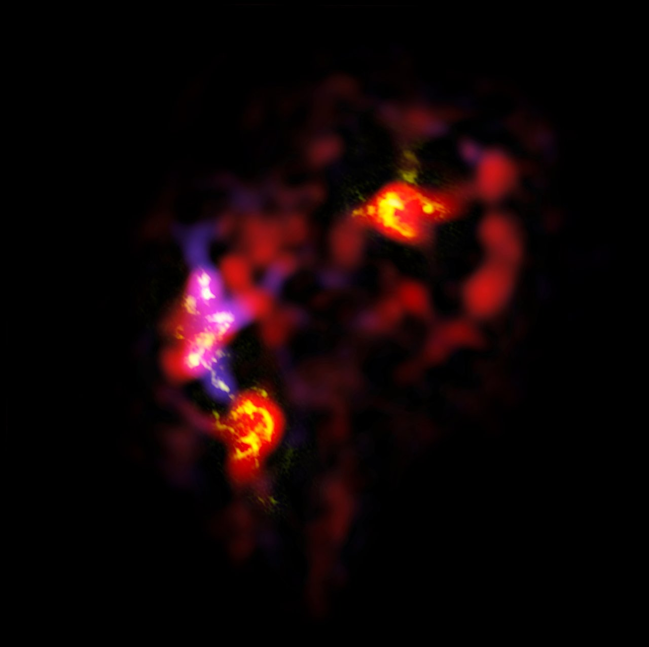 ALMA view of the Antennae Galaxies