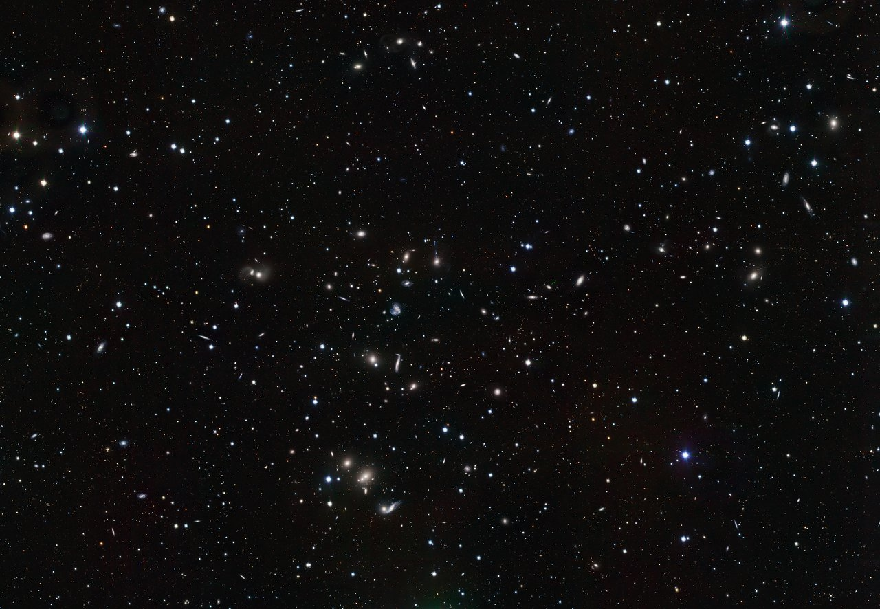 VST image of the Hercules galaxy cluster