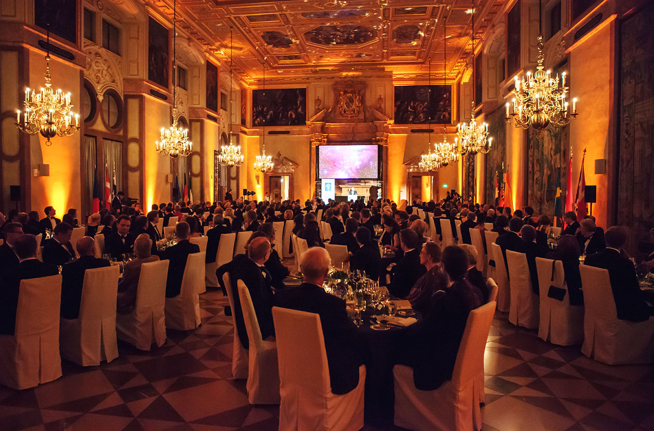ESO 50th Anniversary Gala Event in the Kaisersaal of the Munich Residenz in Germany