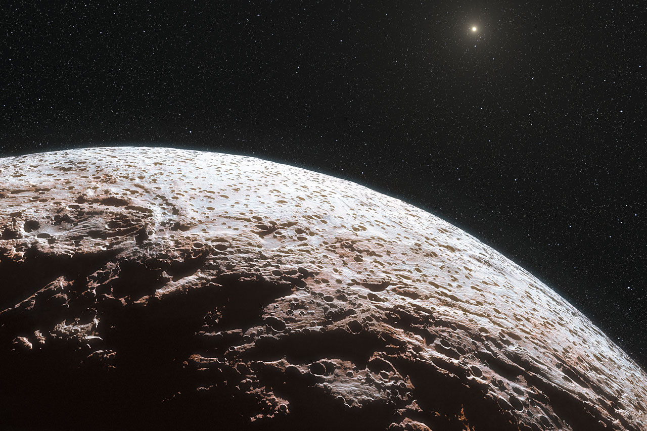 Dwarf Planet Makemake Lacks Atmosphere | ESO