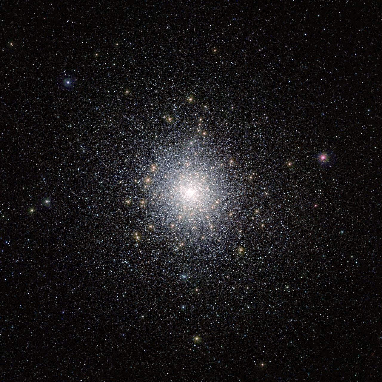The globular star cluster 47 Tucanae