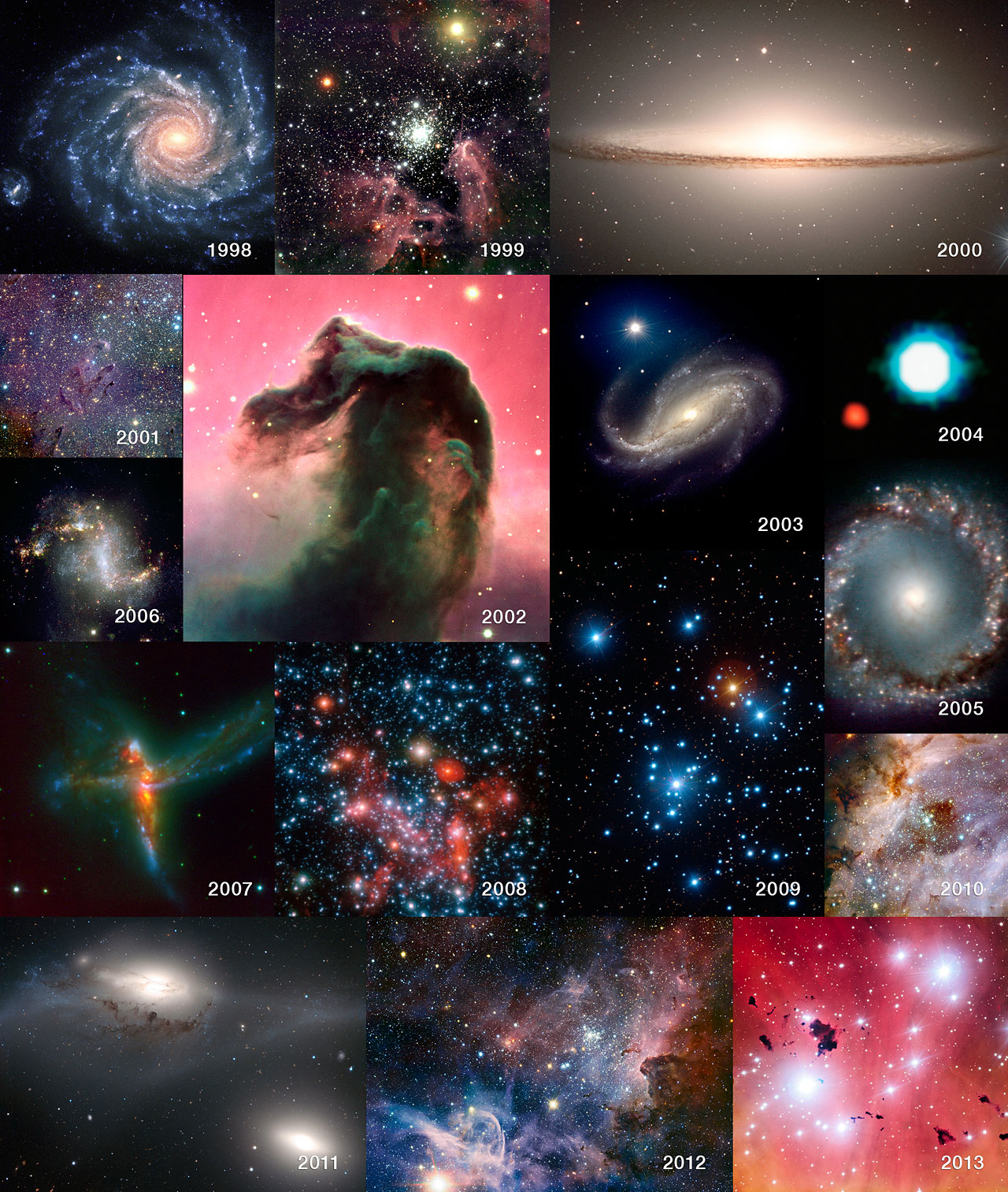Pesëmbëdhjetë vjet me Teleskopin Shumë të Madh