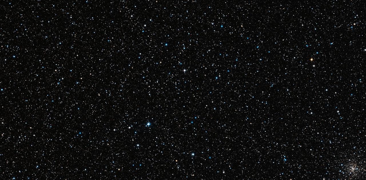 Wide Field Imager-Aufnahme eines Teils des Bulges der Milchstraße