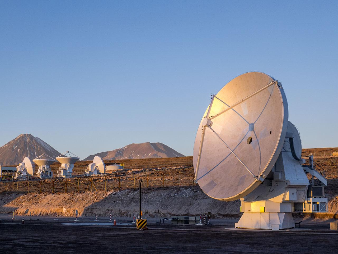 L'ultima antenna di ALMA