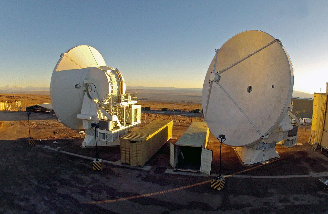 The final two ALMA European antennas