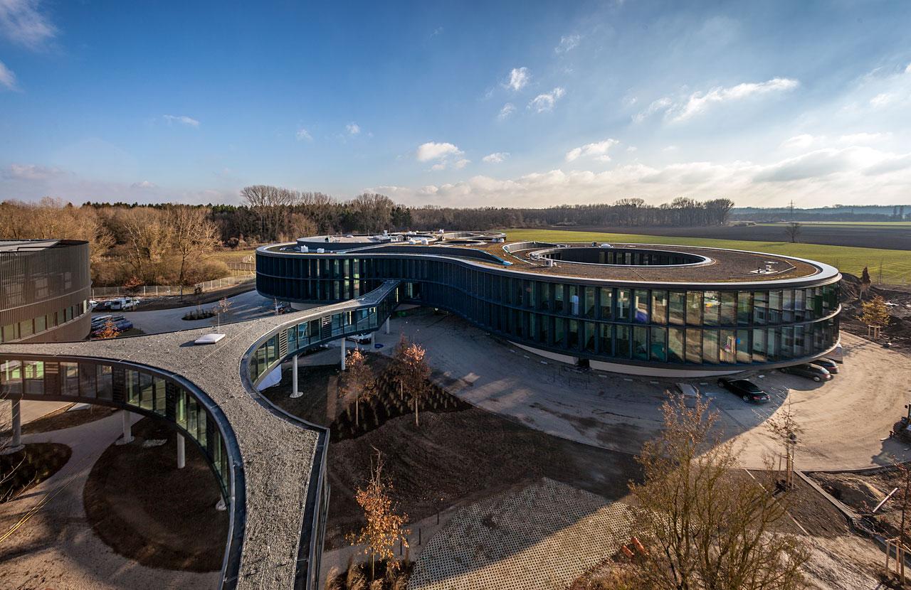 Přístavba budovy ředitelství ESO