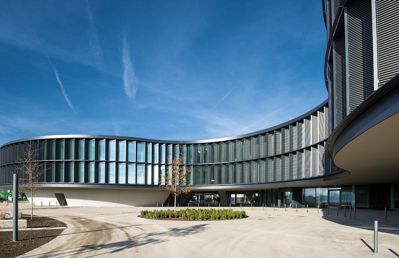 Das neue ESO-Büro- und Konferenzgebäude