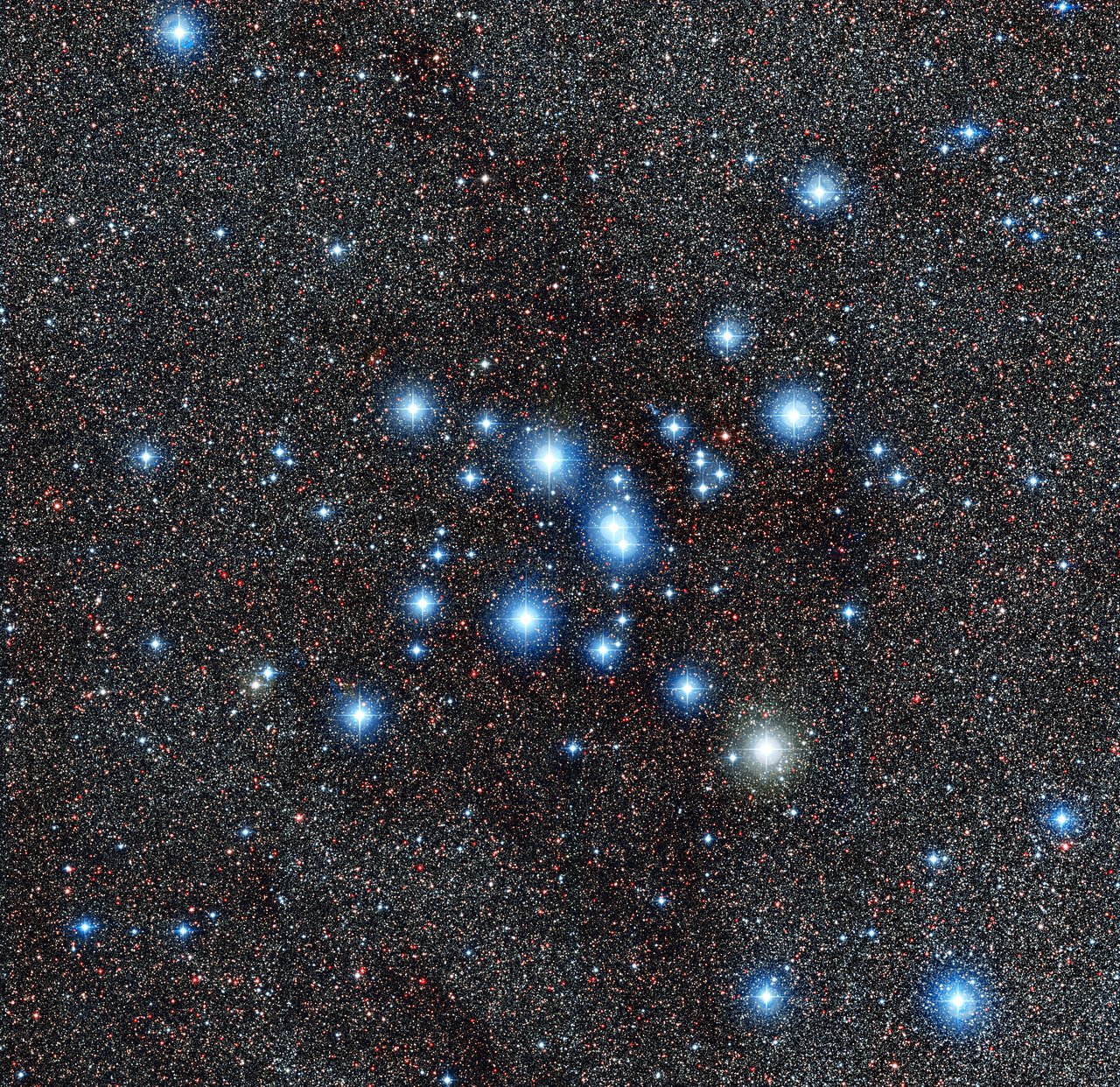 Der Sternhaufen Messier 7