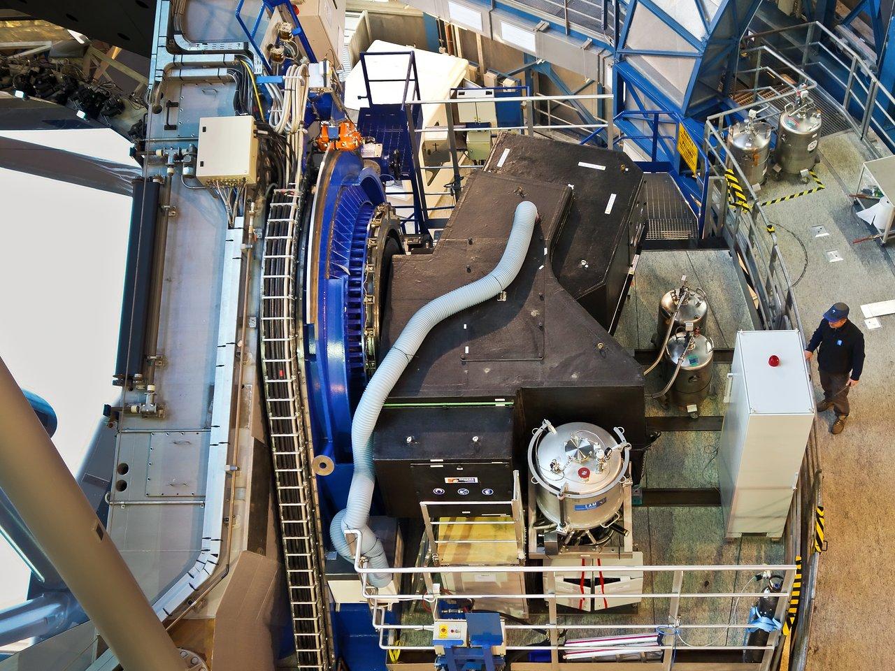 El instrumento SPHERE, instalado en el VLT