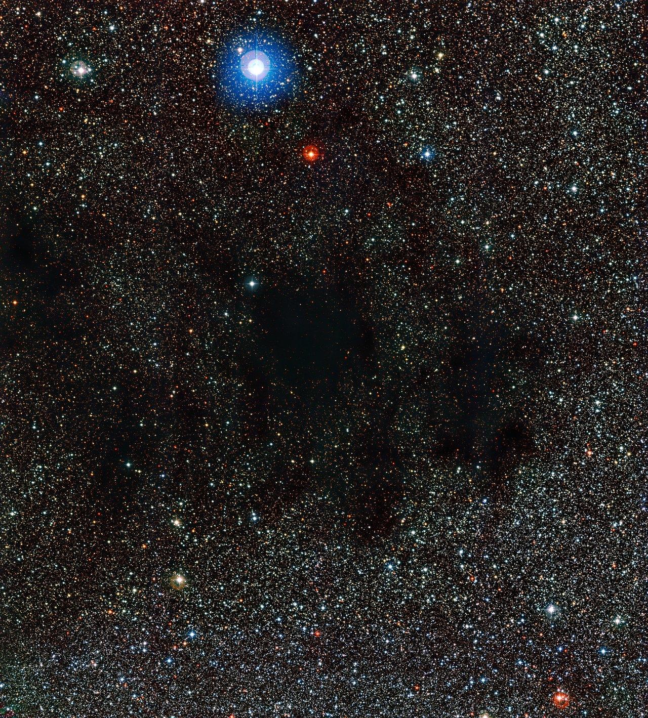 Parte da Nebulosa do Saco de Carvão
