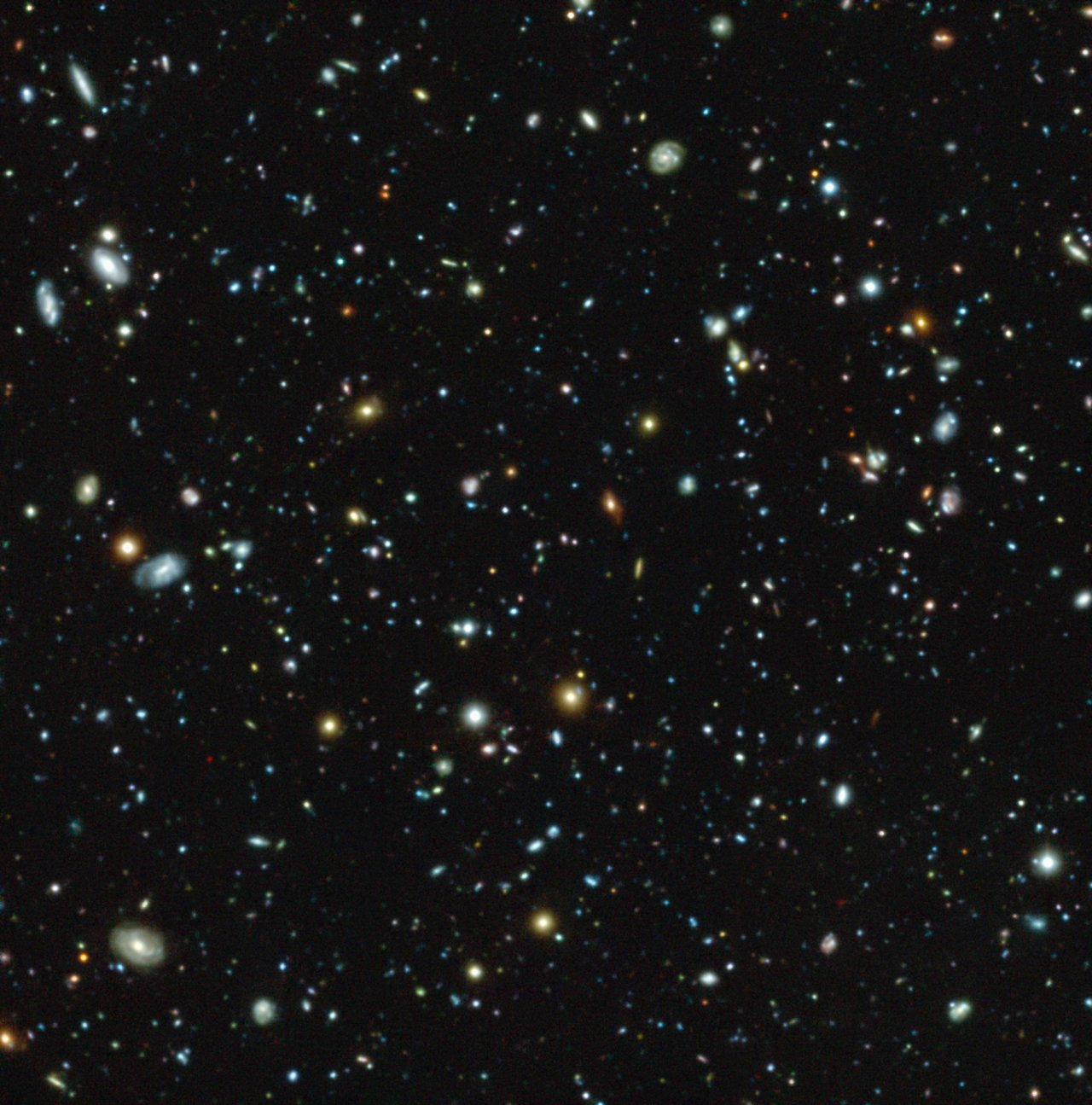 MUSE Probes Uncharted Depths of Hubble Ultra Deep Field | ESO
