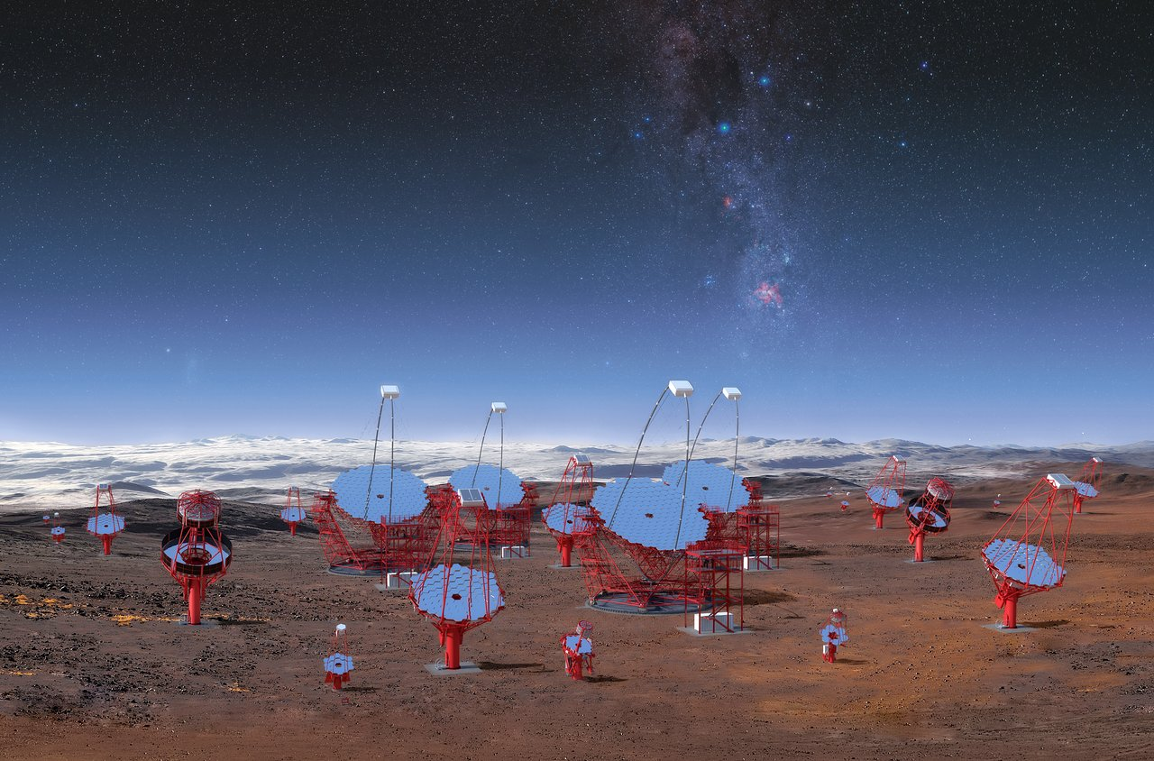 Eso Beherbergt Cherenkov Telescope Array South Am Paranal Eso Osterreich