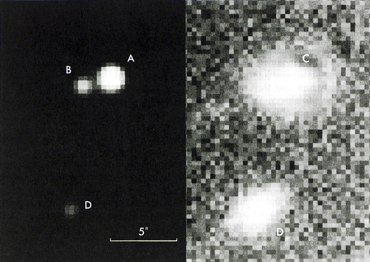The Gravitational Lens System UM673