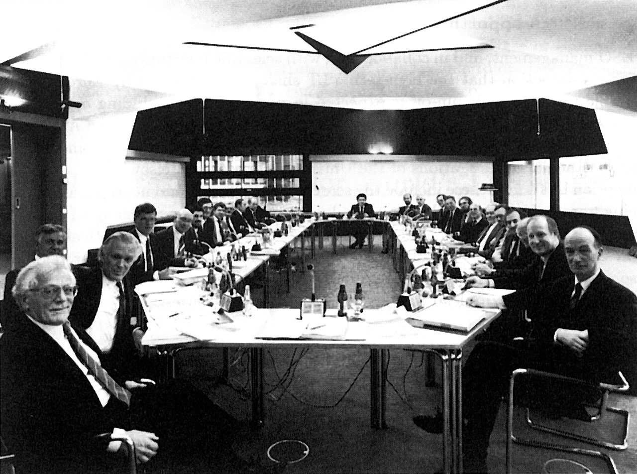The ESO Council in session on 8 December 1987