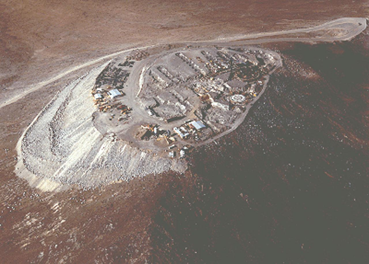 Aerial View of Cerro Paranal