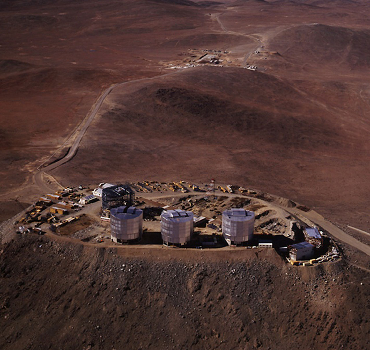 Aerial View of Paranal Observatory
