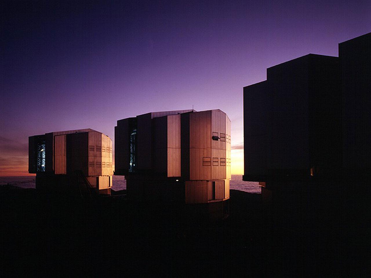 UT Enclosures in the Evening Light
