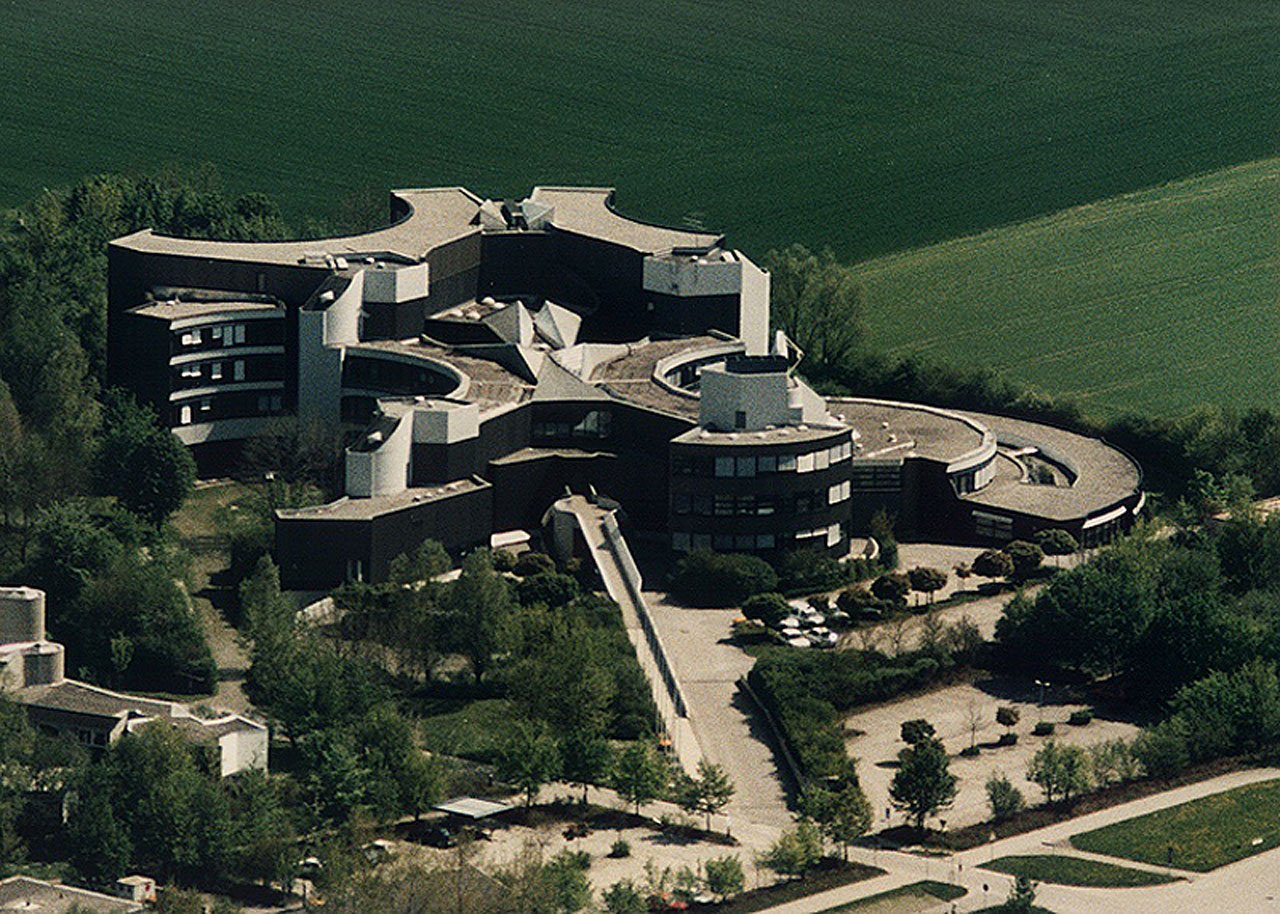 Aerial View of the ESO Headquarters in Garching