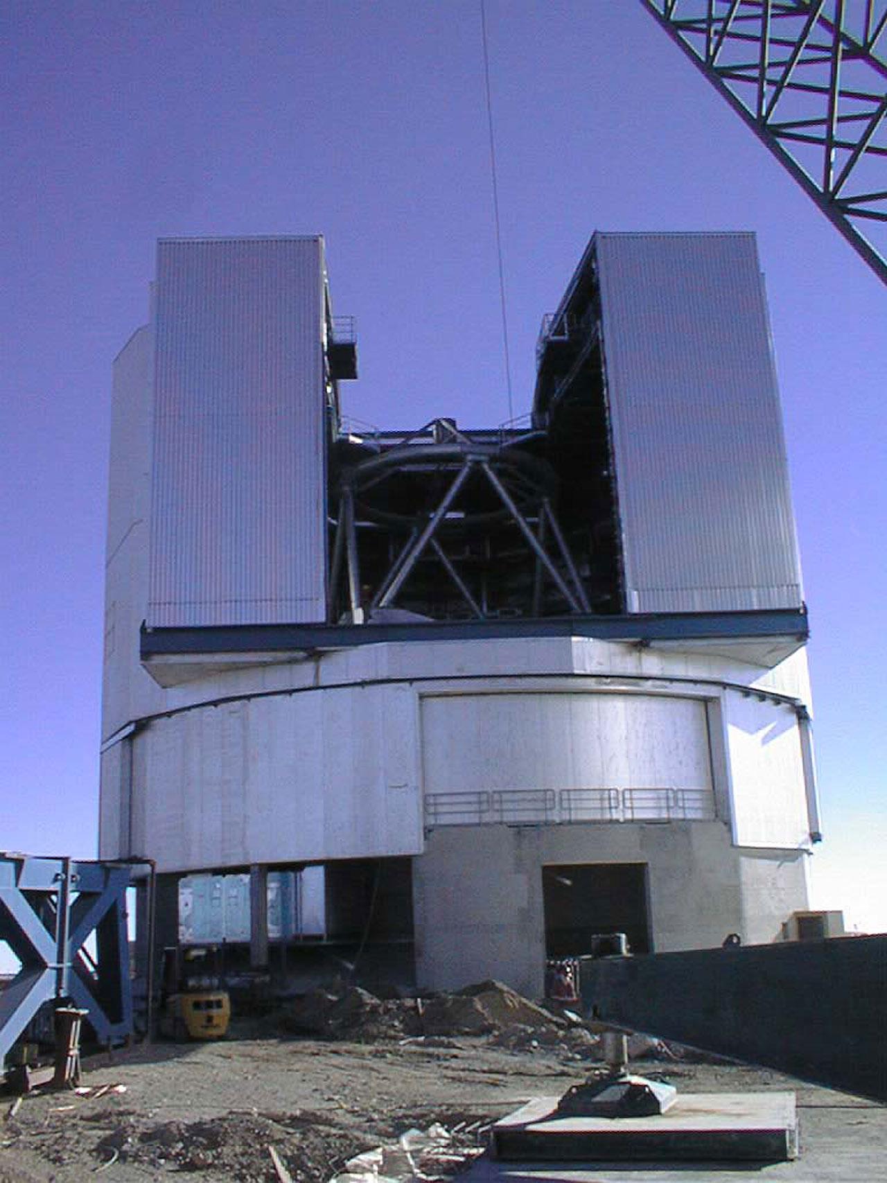Unit Telescope 1 in its Enclosure