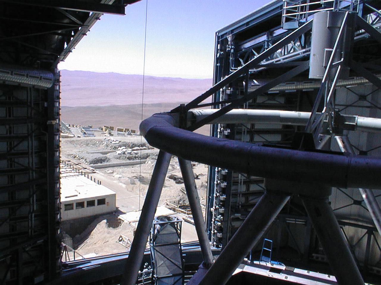 The View form the Unit Telescope 1 Enclosure