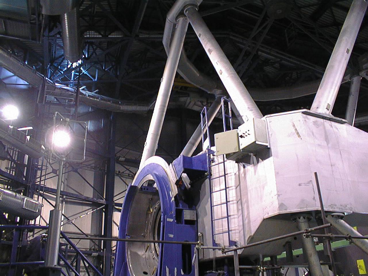 Unit Telescope 1 Altitude Bearings