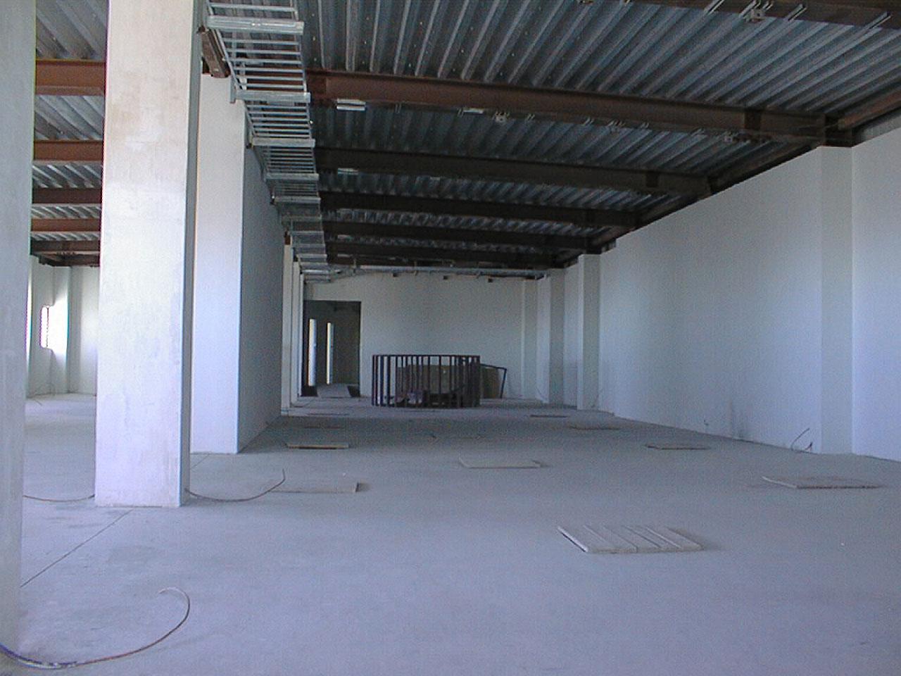 Inside the VLT control Building