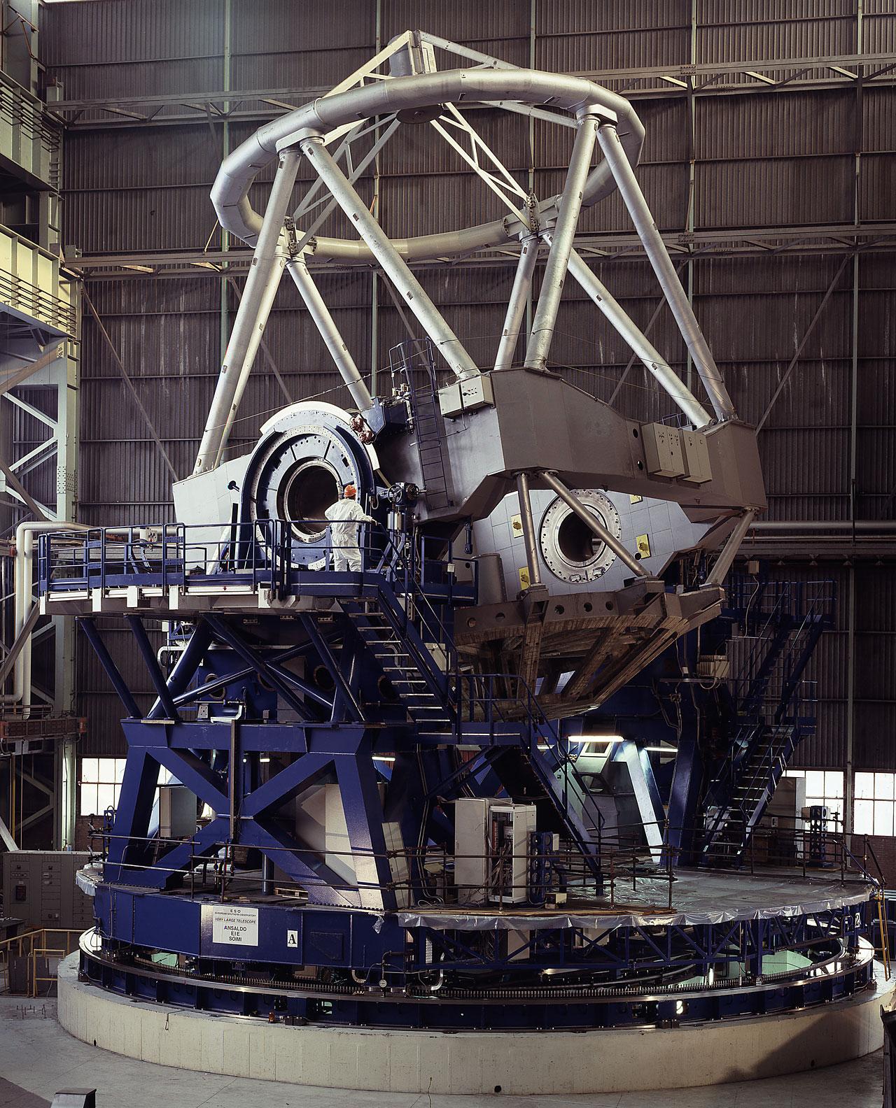 VLT Mechanical Structure