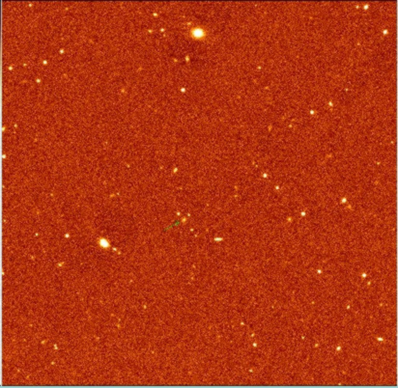 Radio Galaxy MRC 0406-244