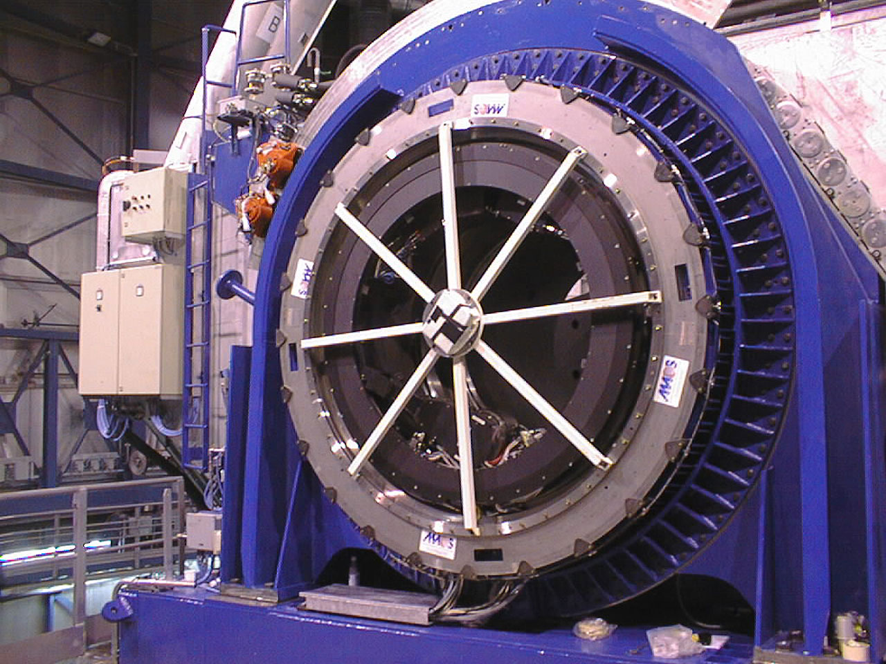 Installation of the Nasmyth Adapter-Rotators