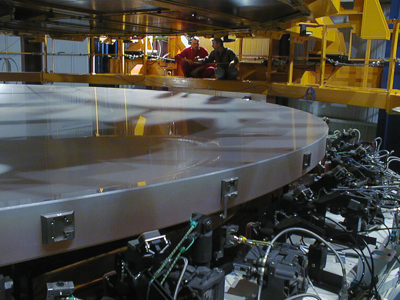 First Large VLT Mirror Successfully Coated