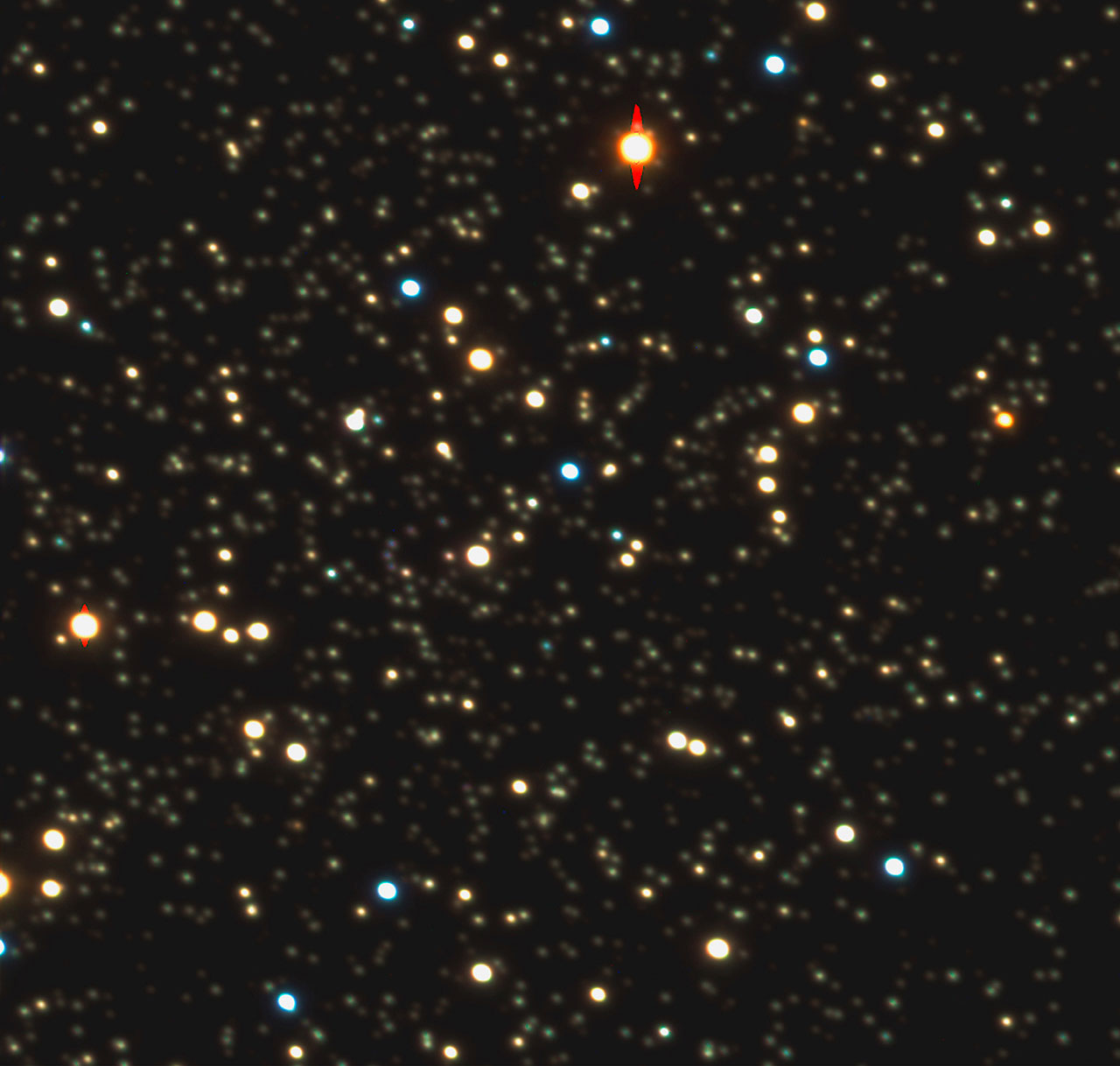 The Central Region of Globular Cluster Messier 4
