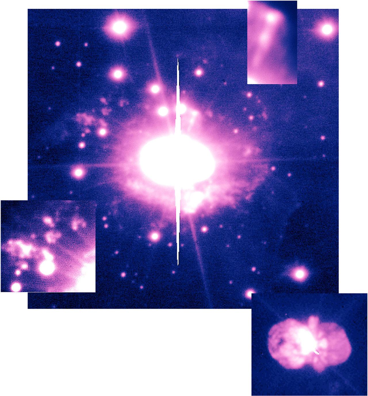 High-Velocity Ejecta in Eta Carinae