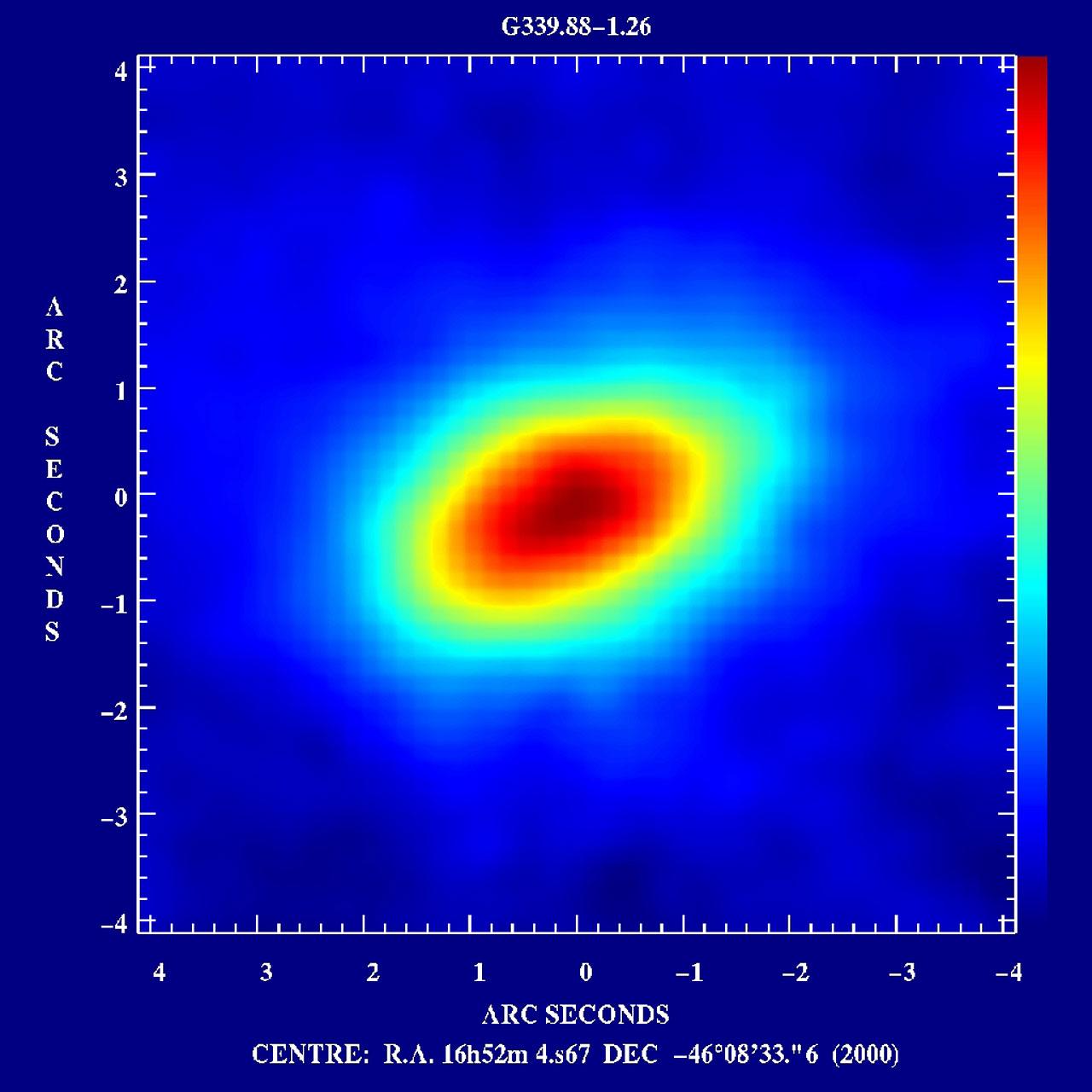 First Circumstellar Disk around a Massive Star