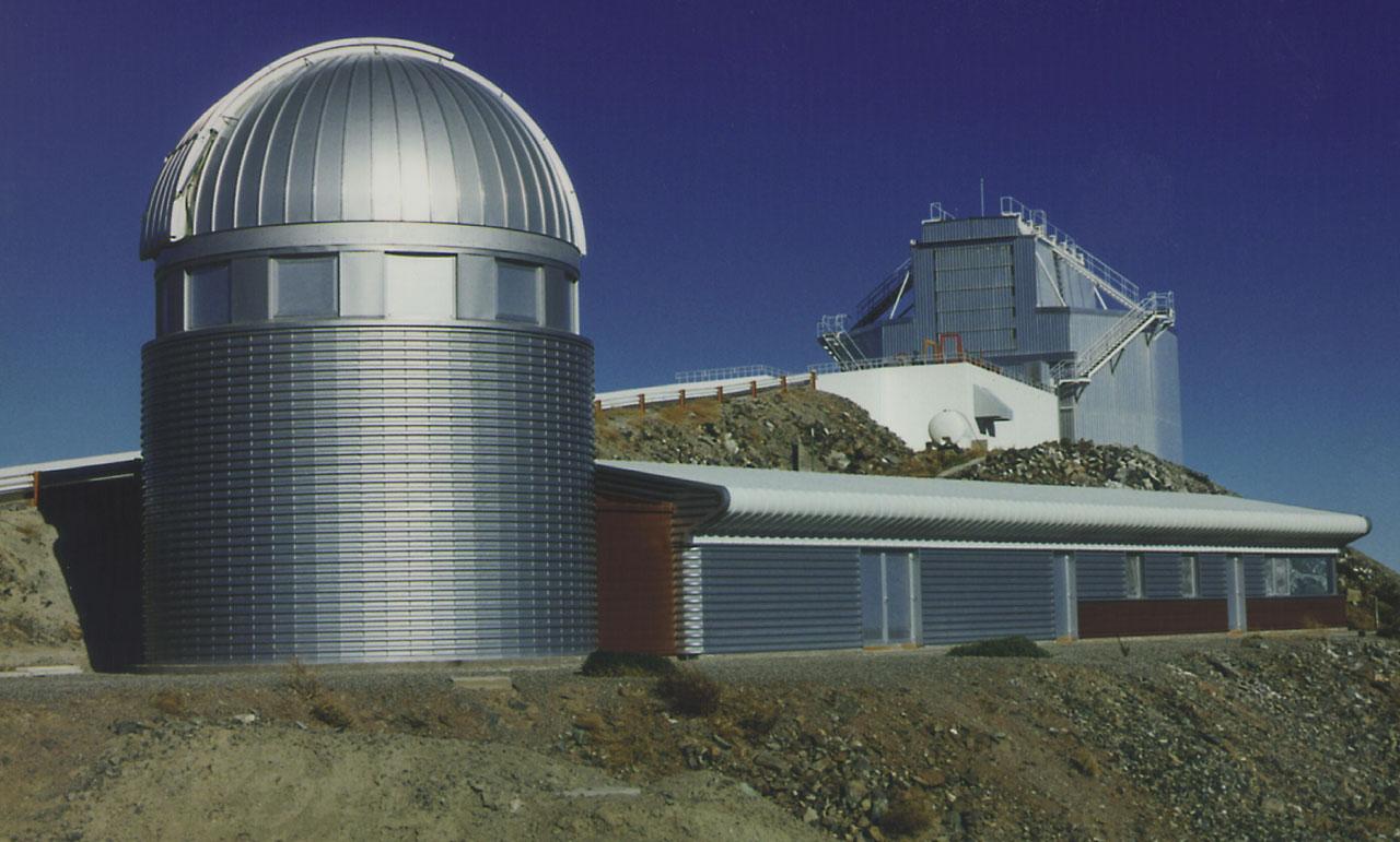 Dome of the Swiss 1.2-metre Leonhard Euler Telescope at La Silla