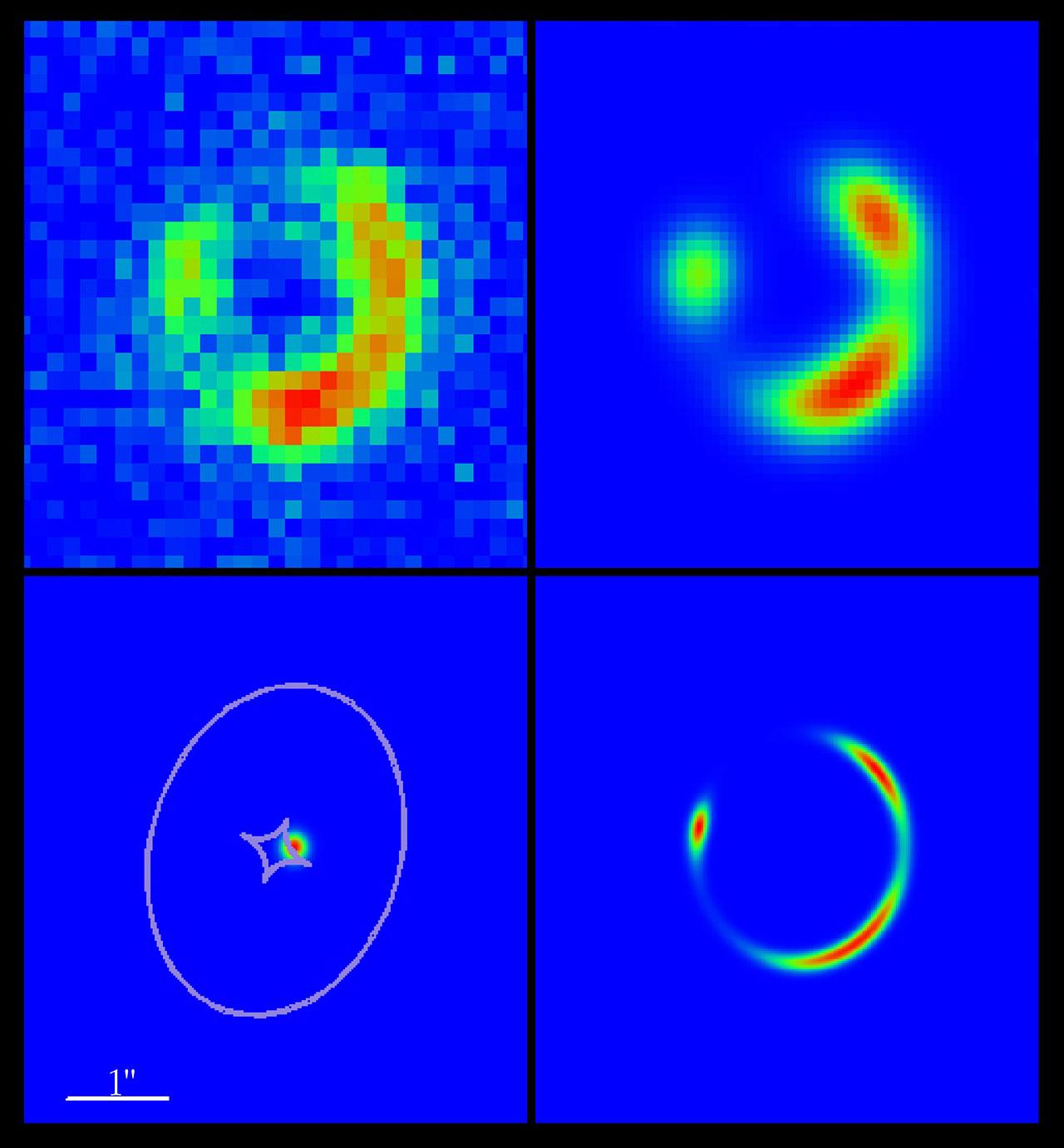 A Gravitational Einstein Ring