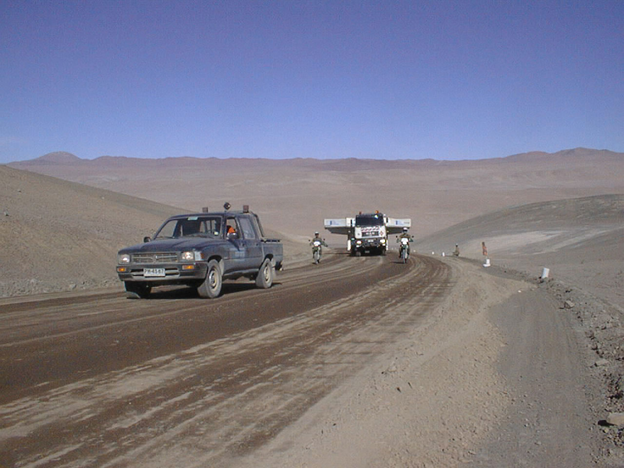 Journey to Paranal