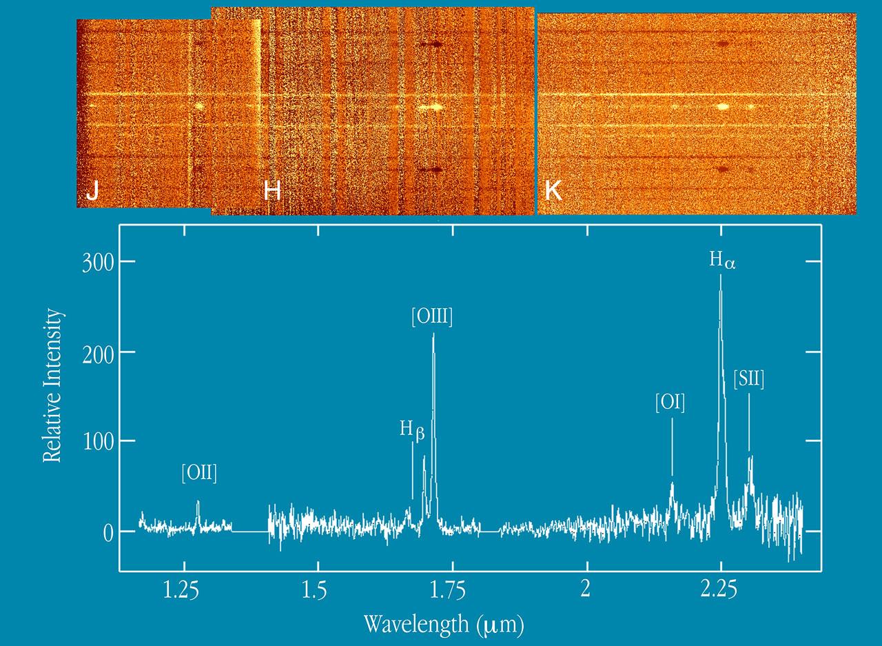 IR Spectrum of Radio Galaxy at Z=2.4