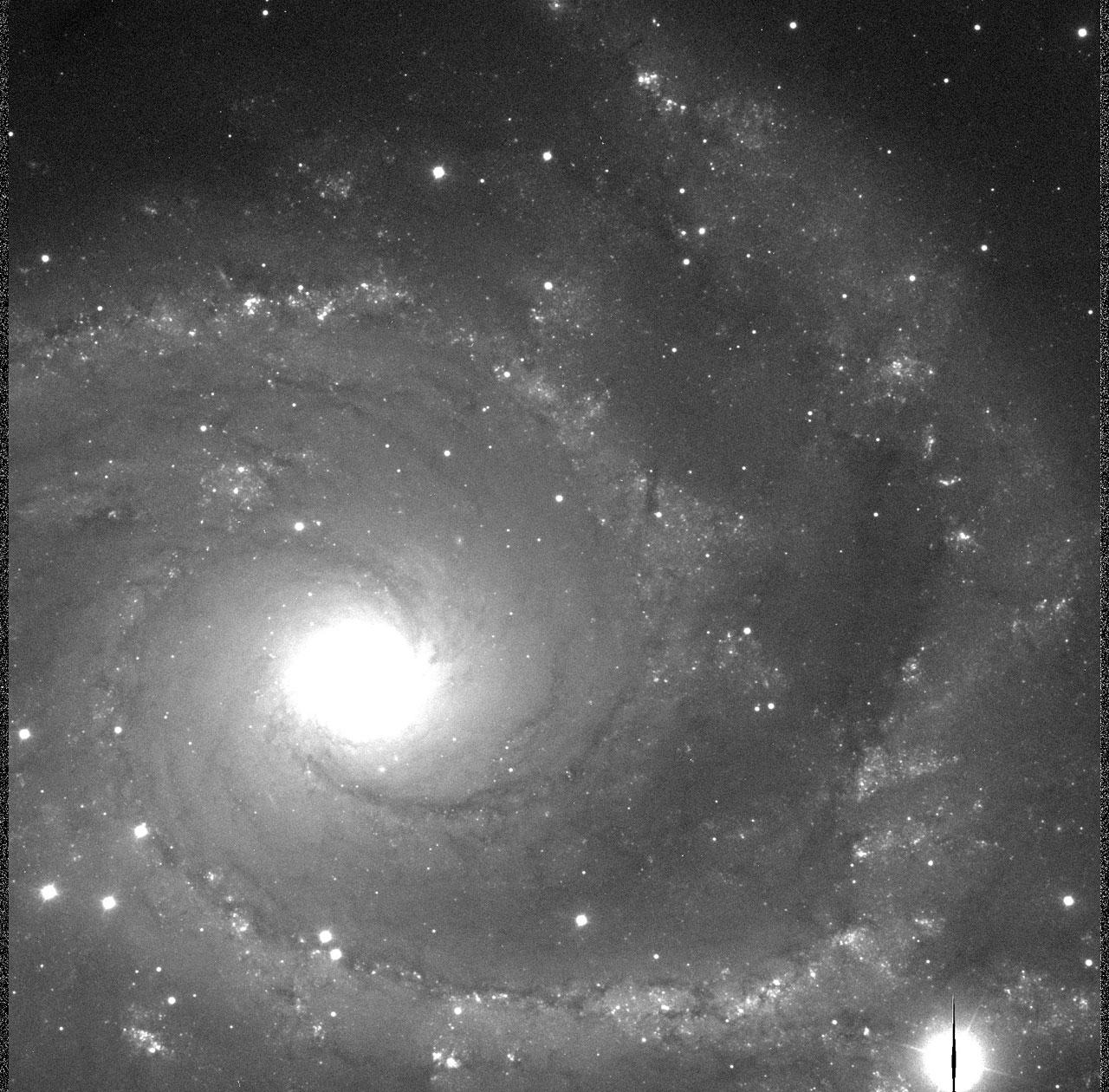 Spiral Galaxy NGC 2997 I-Band-0.25 arcsec