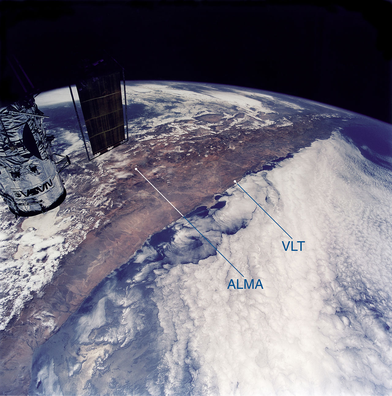 View of Northern Chile