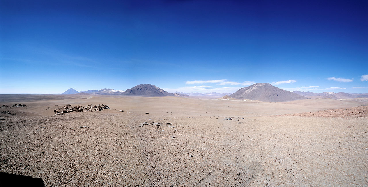 Panoramic View of the Proposed Site for ALMA at Chajnantor