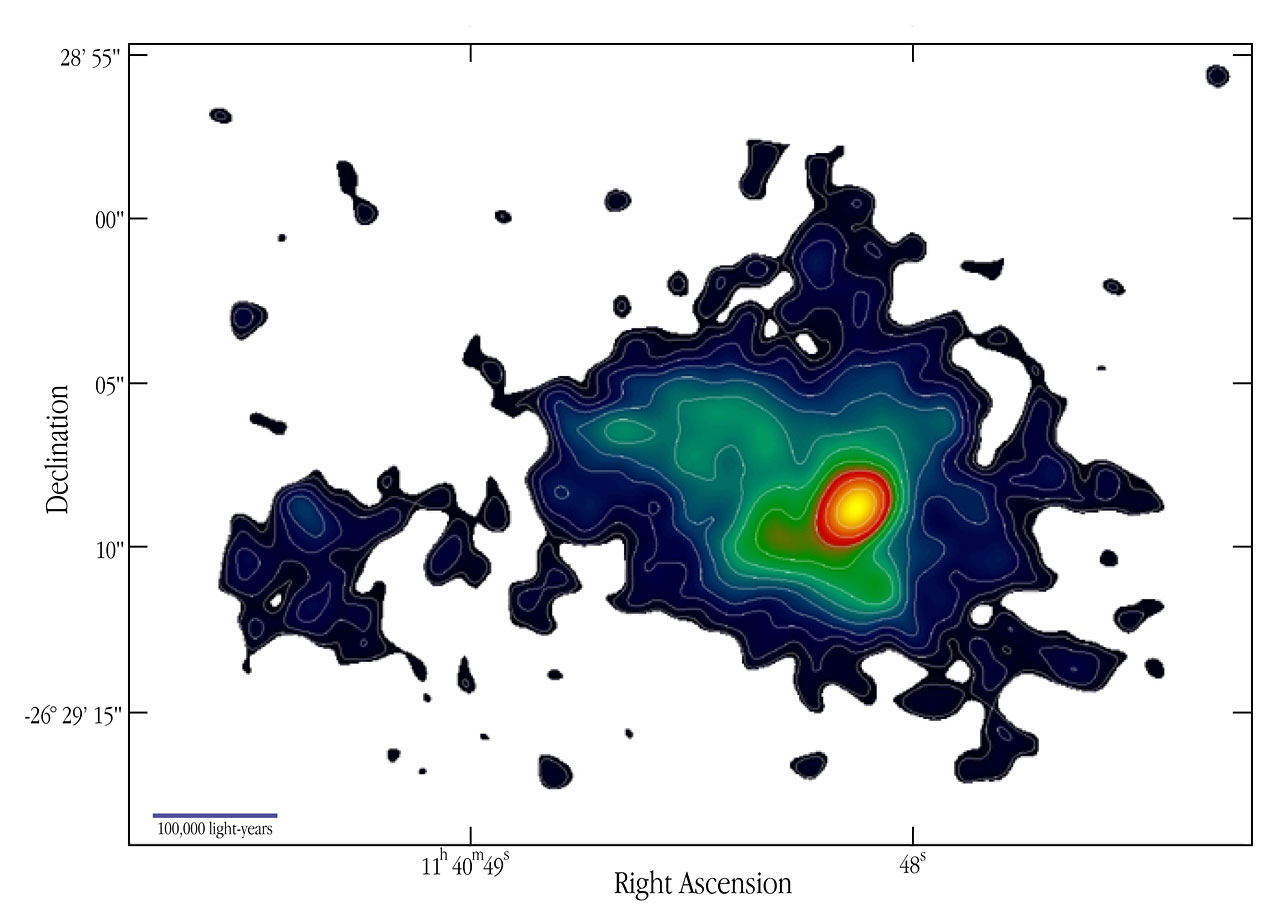 Lyman-alpha Contours at Radio Galaxy 1138-262