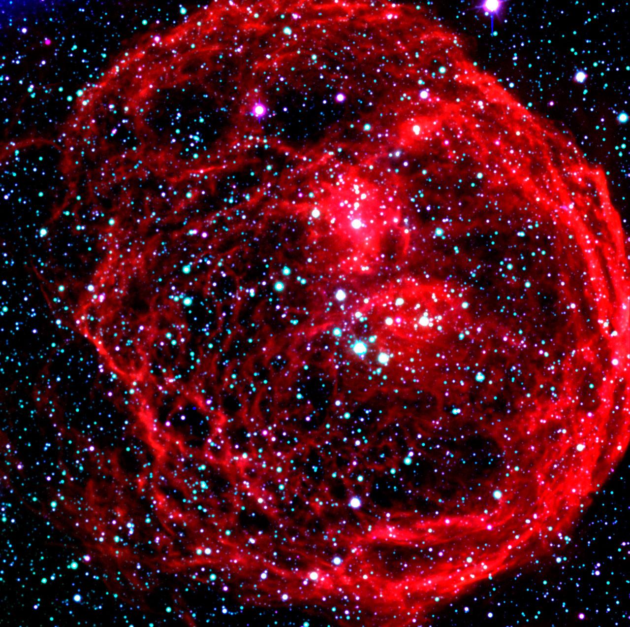 N70 Nebula in the Large Magellanic Cloud