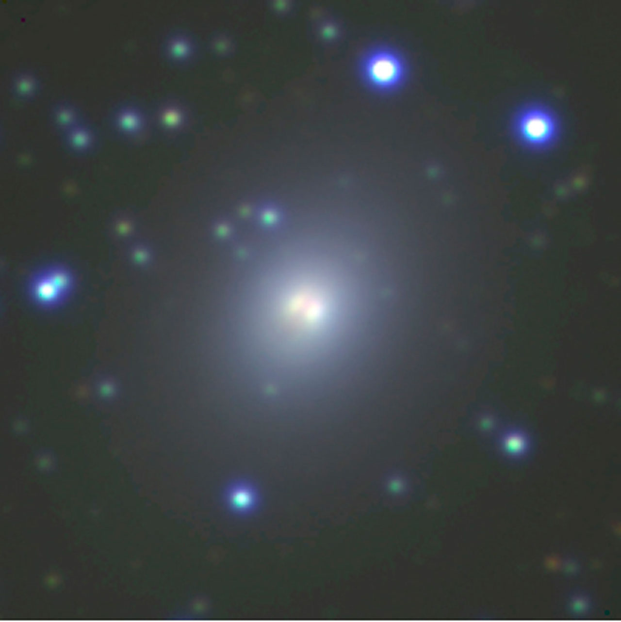 Galaxy in the Great Attractor Field