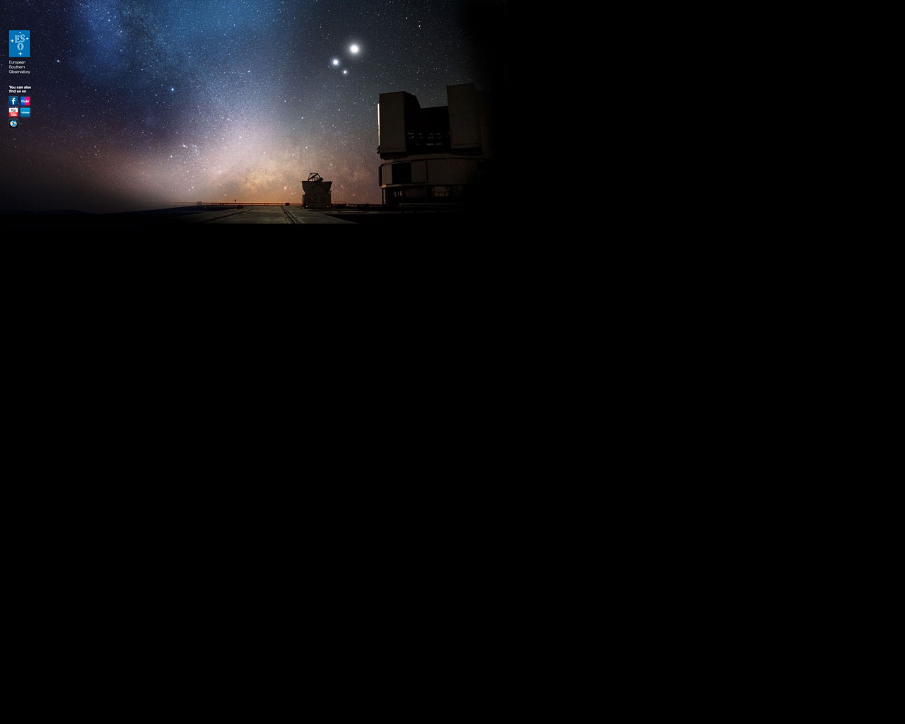 ESO Background image for MySpace
