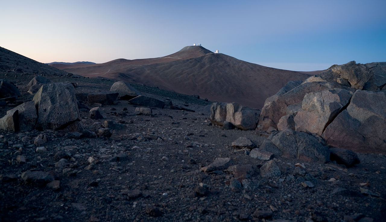 Paranal in Atacama desert